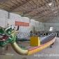 广州美星游艇有限公司供应12人龙舟 22人龙舟 玻璃钢龙舟